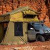 23zero roof top tent on vehicle