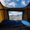 rooftop tent windows open