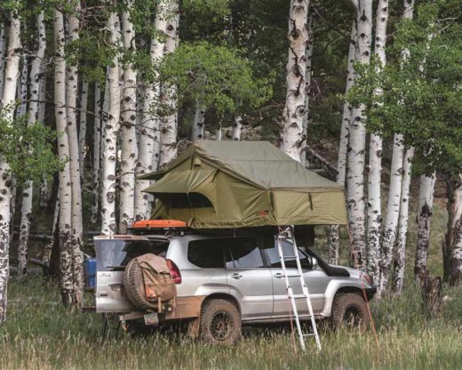 roof top tent in aspens
