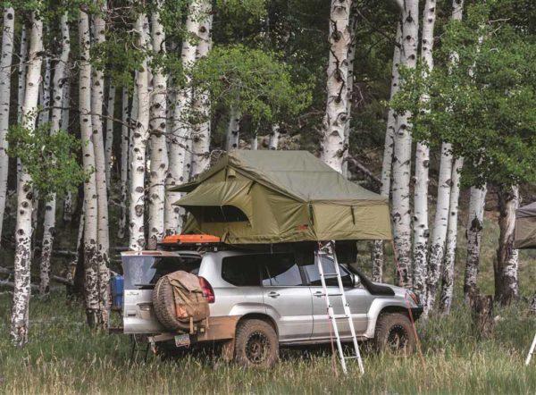 roof top tent in aspens