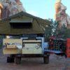 roof top tent overlanding trailer