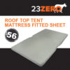 56 roof top tent mattress fitted sheet