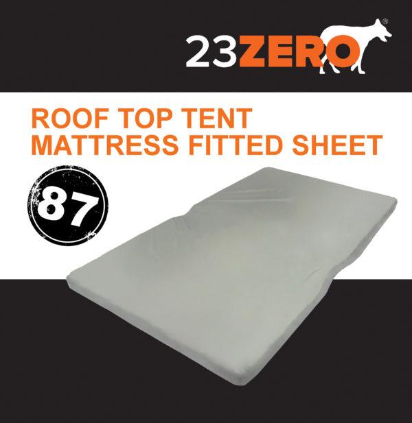 87 roof top tent mattress fitted sheet